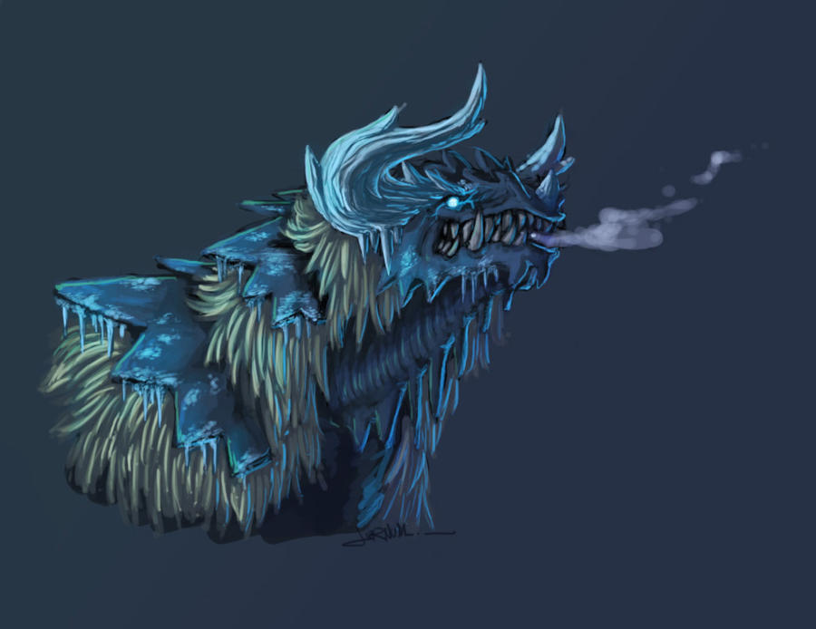Frost Dragon by jornumgandr on DeviantArt