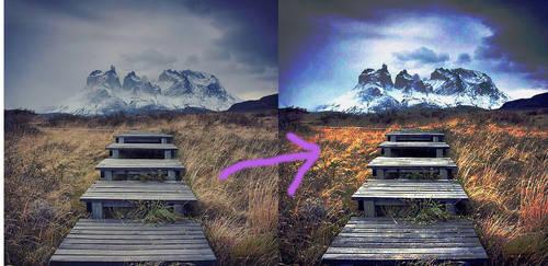 Koloryzacja GIMP by Pireek