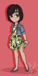 Chibi Me by RaeNoir