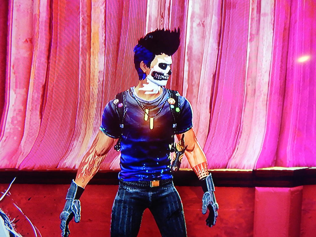 Sunset Overdrive- My character (after beating game by lXxLinkinxXl
