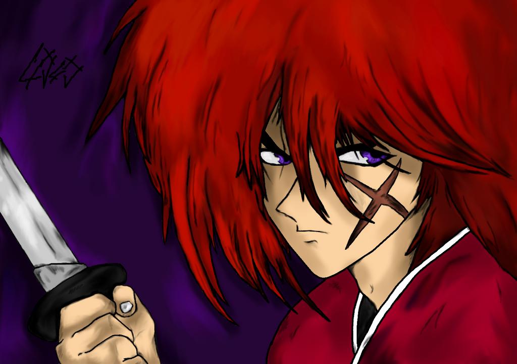 Kenshin Himura- Battousai The Man Slayer by lXxLinkinxXl