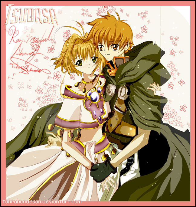 Sakura And Syaoran By TohruHondaSan On DeviantArt