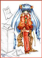 Harucon chan :: Purim desu by TohruHondaSan