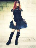 Gothic Lolita II by TohruHondaSan