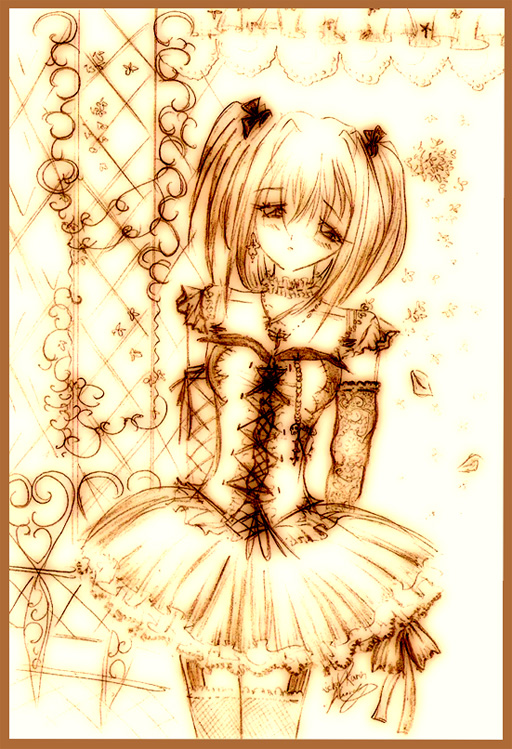 Gothic Lolita :Old pic: by TohruHondaSan