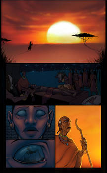 African comic page 1
