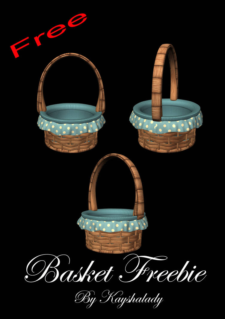 Pretty blue baskets by kayshalady