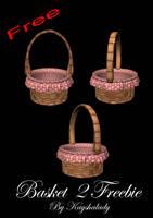pretty pink baskets by kayshalady