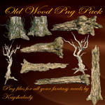 Old Wood PNG pack