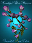 Beautiful Blue Flowers Png