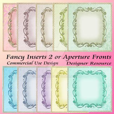 Fancy Inserts 2 by kayshalady