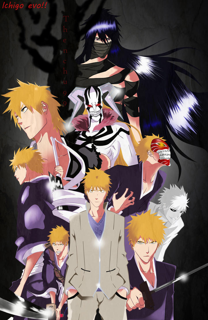 +-Ichigo Evolution-+  BLEACH by THENCHU99