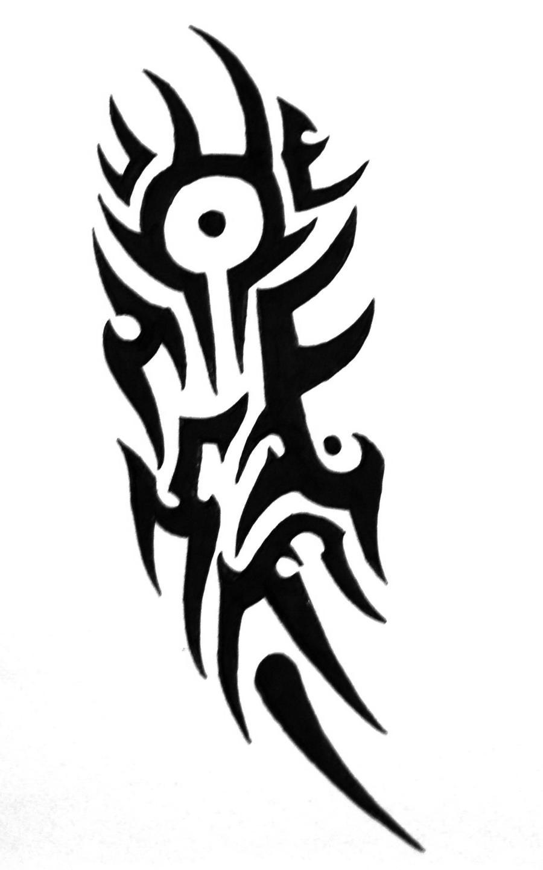 Tribal-Tattoos tribal_tattoo_by_sorentalon-d3iz2eh