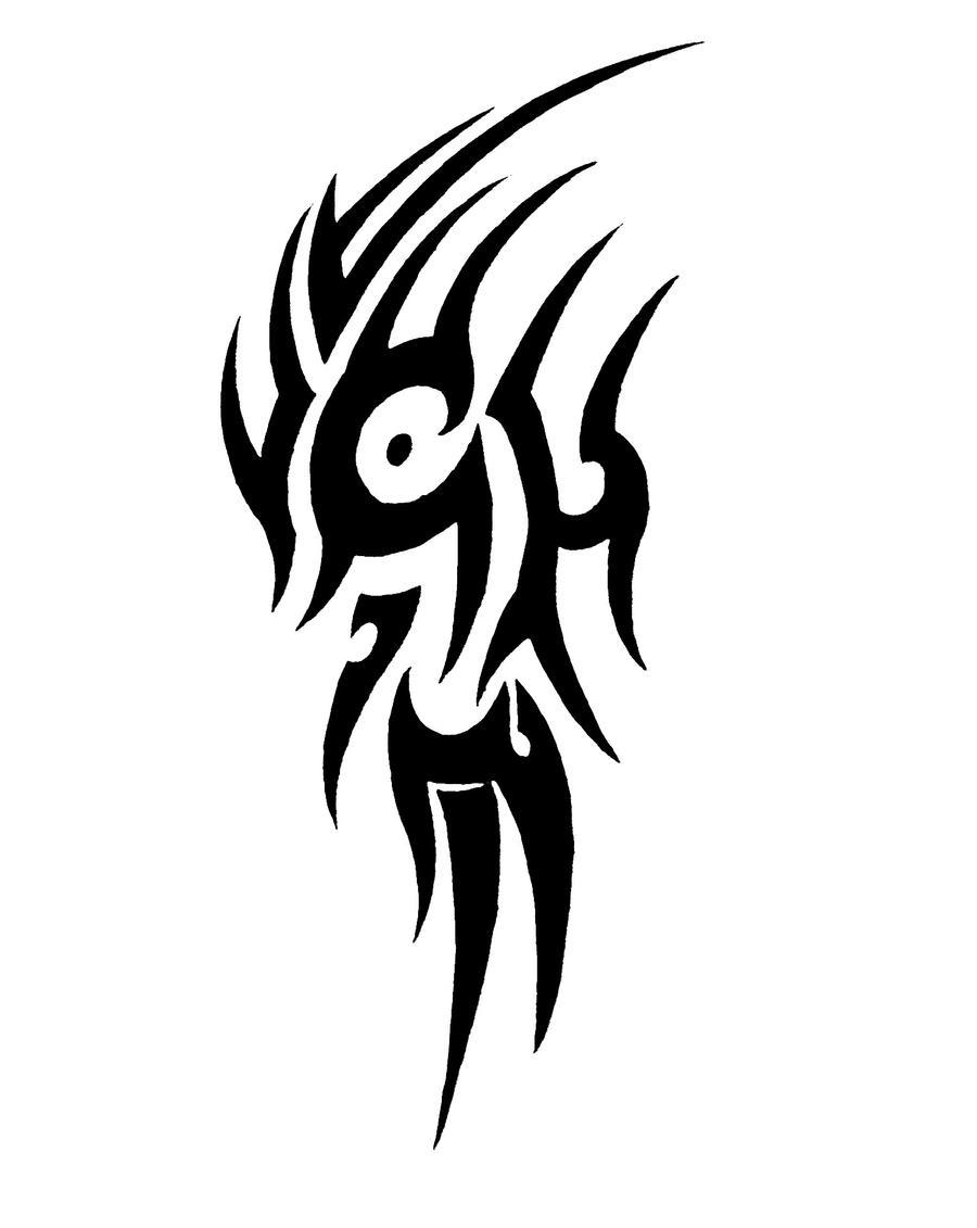 Tribal Shoulder Tattoo Design