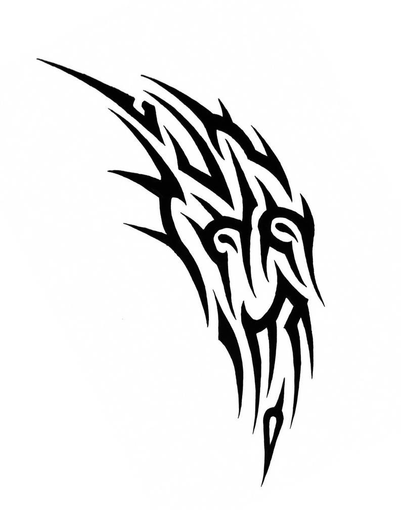 tribal tattoo by sorentalon on deviantart. Black Bedroom Furniture Sets. Home Design Ideas