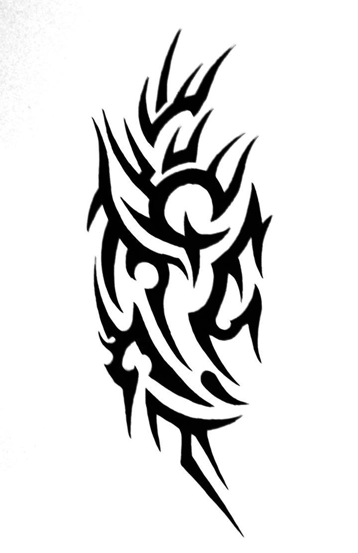 Tribal Shoulder Tattoo