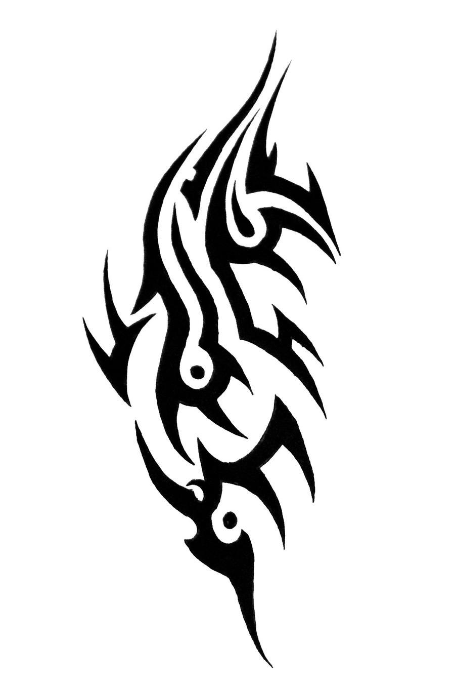 tribal shoulder tattoo8 by sorentalon on deviantart. Black Bedroom Furniture Sets. Home Design Ideas