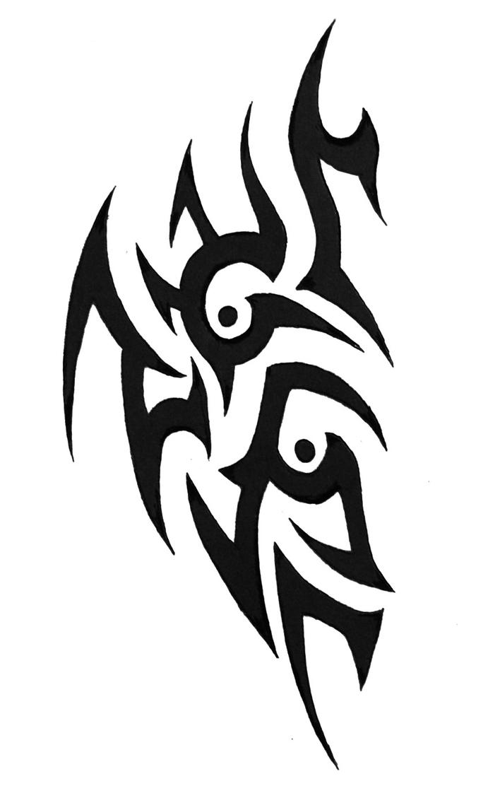 tribal tattoo 35 by sorentalon on deviantart. Black Bedroom Furniture Sets. Home Design Ideas