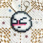 Shy Boo Key Chain by illuminatedpearl