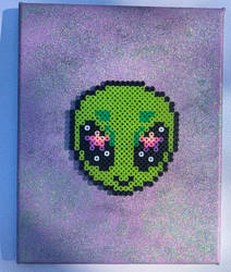Alien Painting by illuminatedpearl
