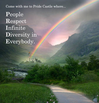 Pride Castle by blindwillow