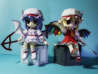 The Scarlet Twins, Flandre and Remillia