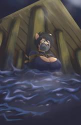 High Tide Hazard by FurryBound