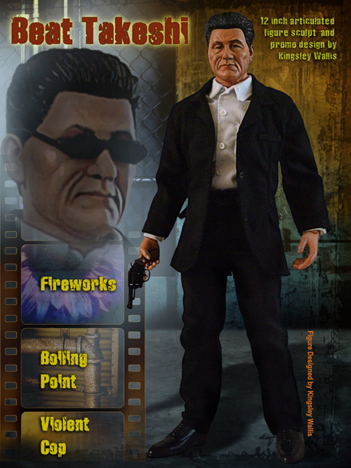 Takeshi 'Beat' Kitano Doll by kingsley-wallis