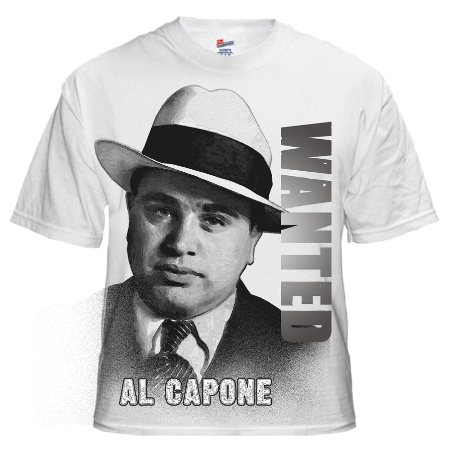 al capone t shirt design by kingsley wallis on al capone t shirt design by kingsley wallis
