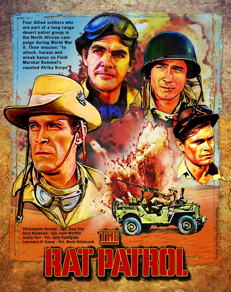 TV's THE RAT PATROL by kingsley-wallis