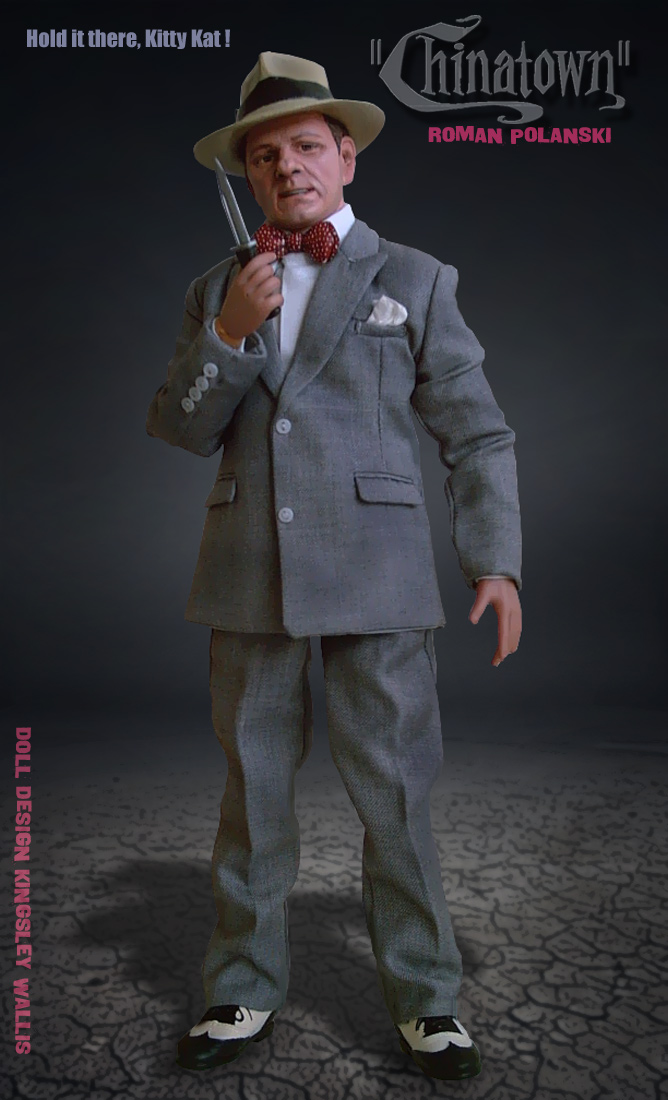 CHINATOWN Roman Polanski Doll by kingsley-wallis