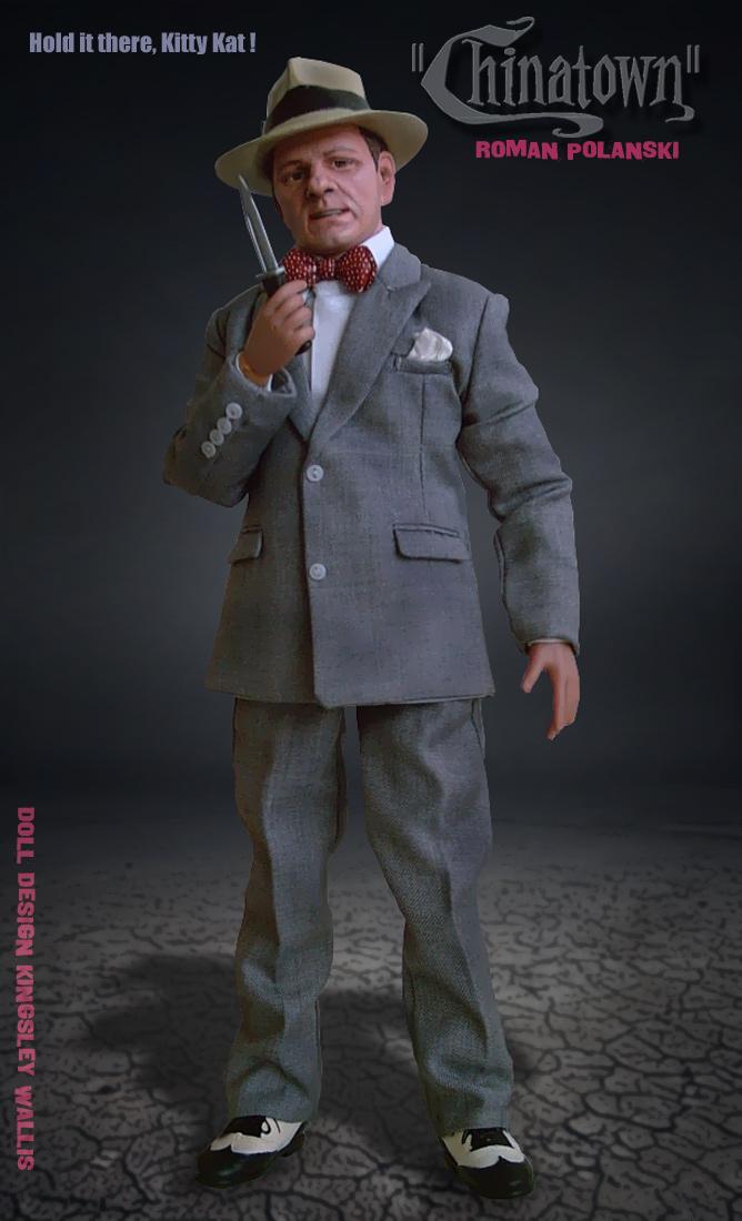 CHINATOWN Roman Polanski Doll by kingsley-wallis