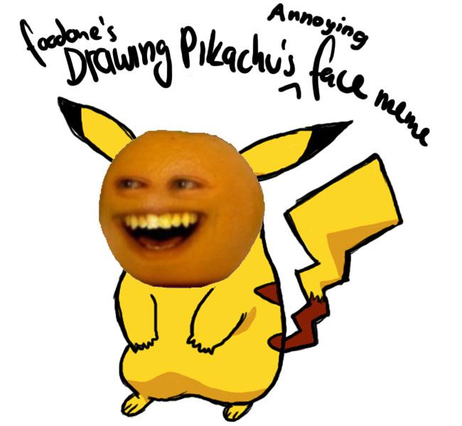 Annoying Orange Meme Face