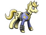 Fallout Equestria Stable Pony