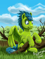 Green Pegasuss by amalgamzaku