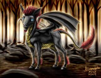 Dragon Pony for Gamerpen [Gift] by amalgamzaku