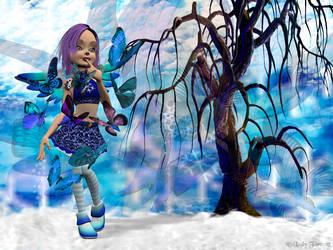 Winter Pixie by kzinrret