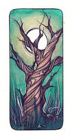 Tree Variation Bookmark by Elleir