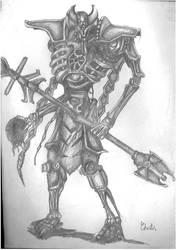 Warhammer 40k - Necron Cryptek by BoyarTactics