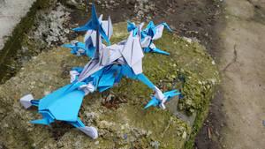 Origami Paper-Shark Class Battleship A