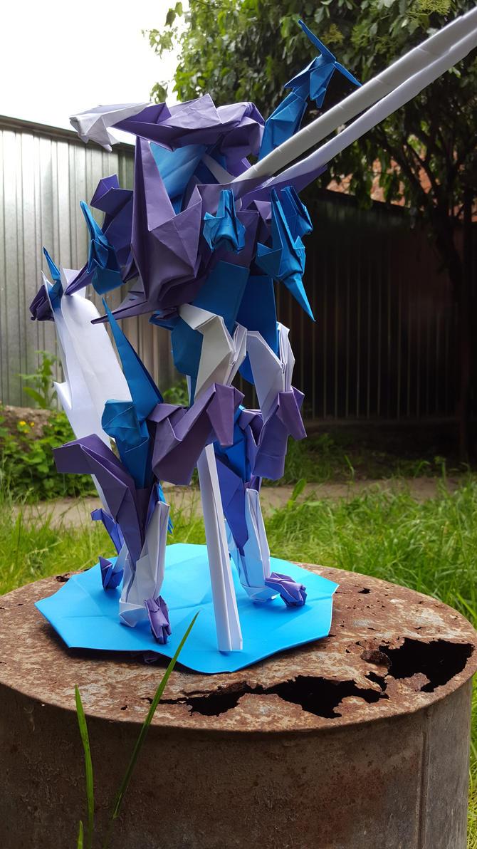 Origami World Engine MK II (Twin Cannon) B by BoyarTactics