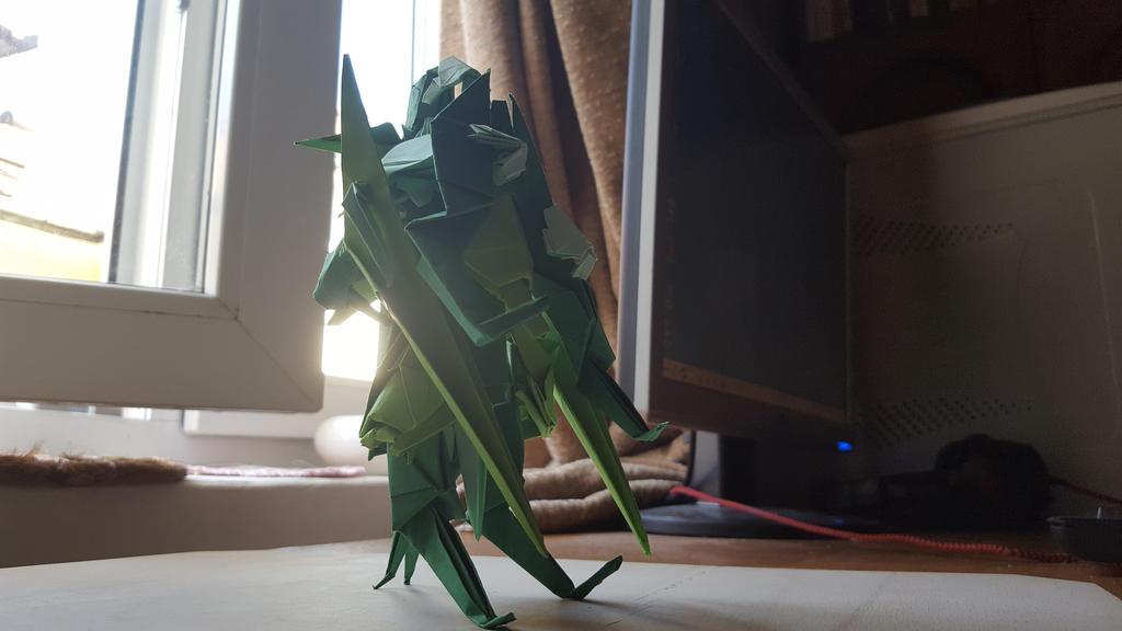 Armored Suit - Origami - C by BoyarTactics