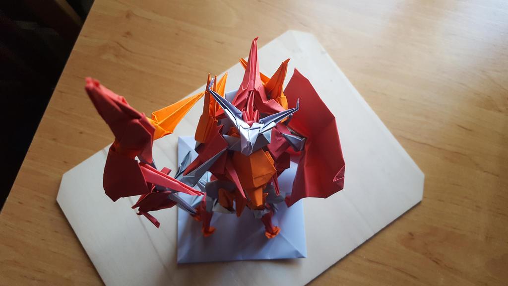 Spear Warden - Origami by BoyarTactics