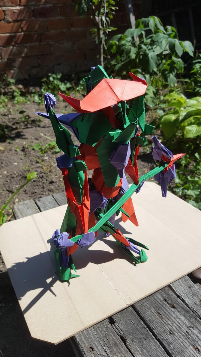 Hammerhead Titan - Origami - B by BoyarTactics