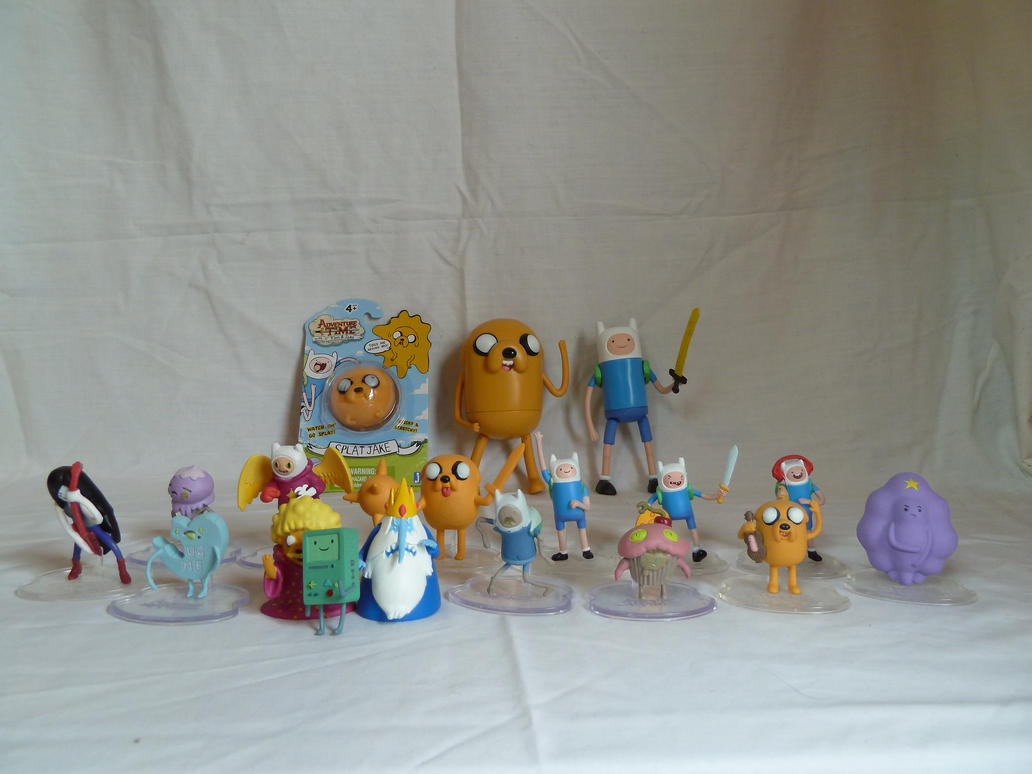 Some Adventure Time Figures! by OwenneiL