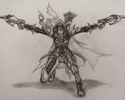 Diablo 3 Demon Hunter by sunnyrays