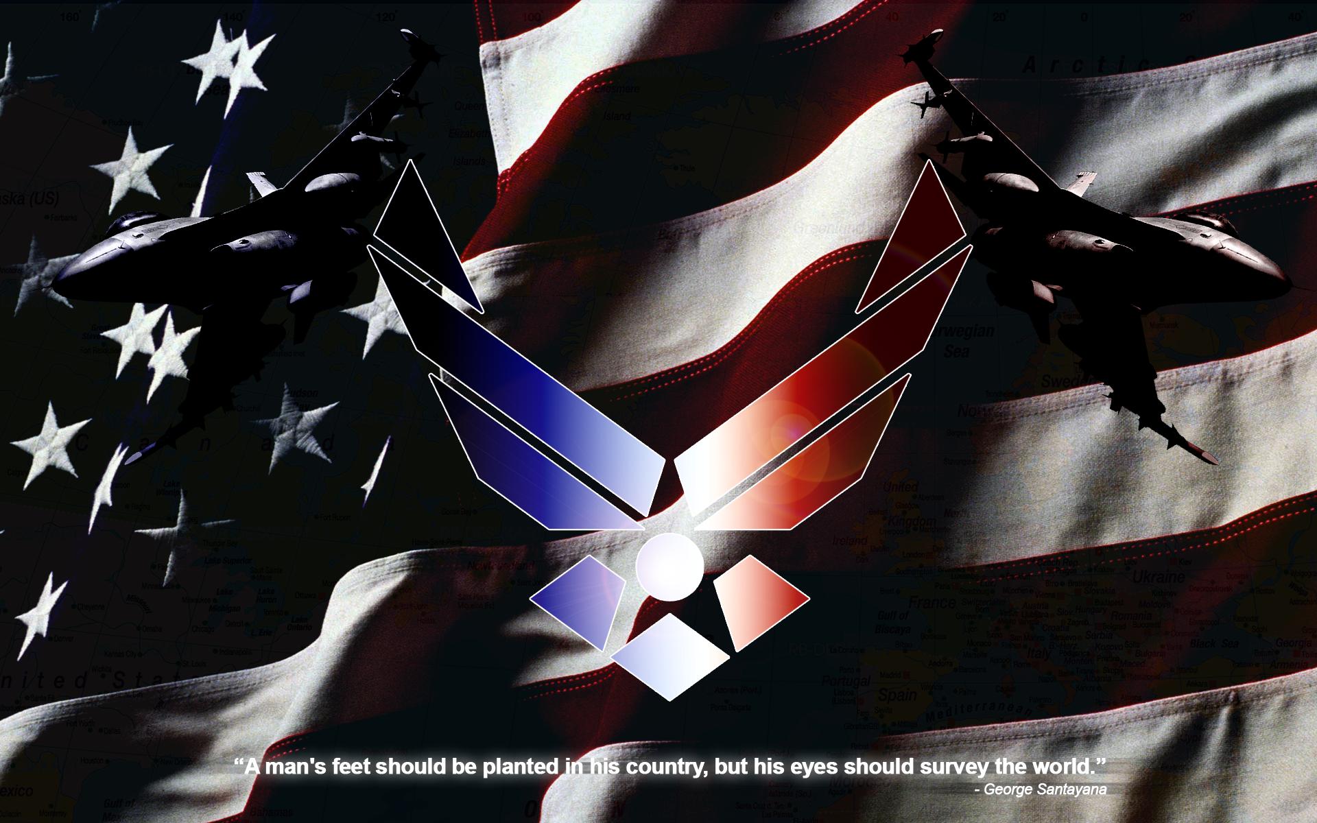 US Air Force Wallpaper by BadWolfArt on DeviantArt