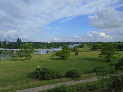 The Landscape from Daru Hill
