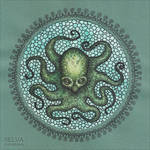 Octopus mandala