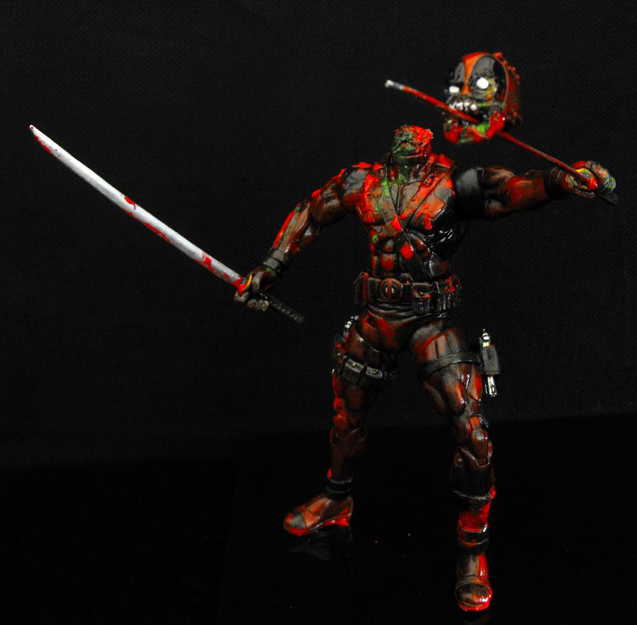 Marvel Zombies Deadpool by MeMade on DeviantArt
